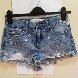 A&F women's shorts